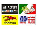 Advertising Flags w/ Graphics